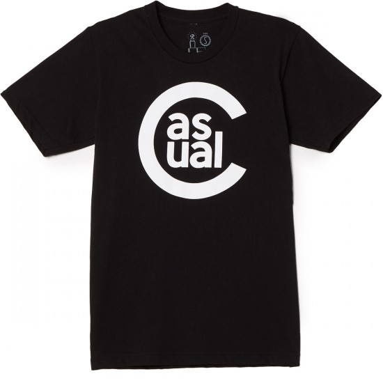 Casual Industrees C-Logo Sport T-Shirt - Black