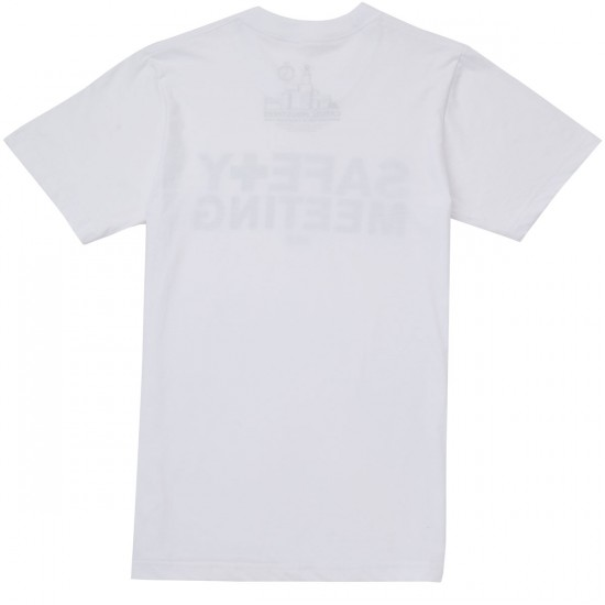 Casual Industrees Safety Meeting T-Shirt - White
