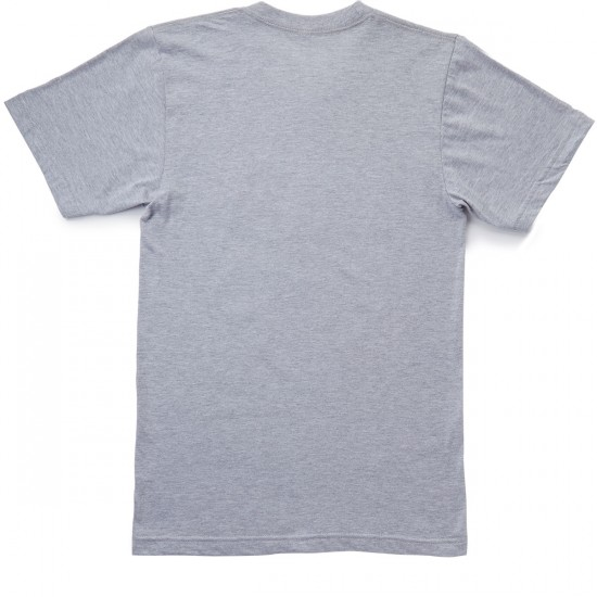 Casual Industrees Anchor Portland T-Shirt - Heather Grey