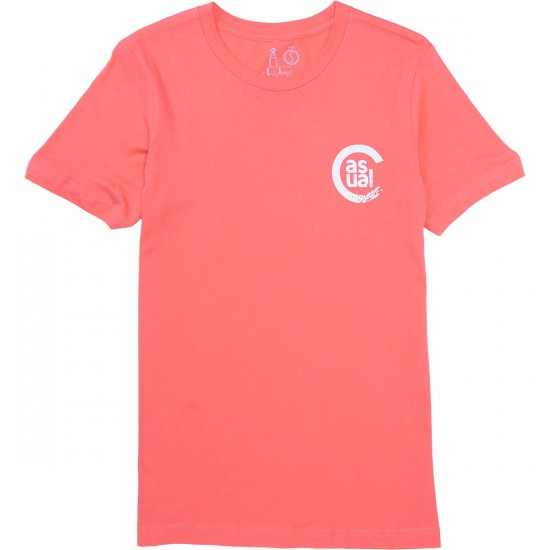 Casual Industrees C-Sport Pixel T-Shirt - Coral