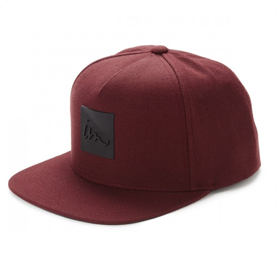Imperial Motion Lark Snap Back Hat - Maroon