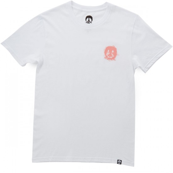 Gnarly Smile Forest T-Shirt - White