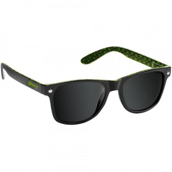 Glassy Leonard Kronik Sunglasses - Black/Green