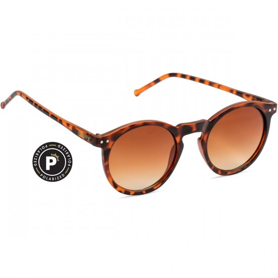 Glassy TimTim Polarized Sunglasses - Matte Tortoise