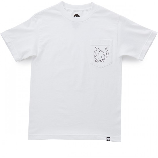 Gnarly Boobasarus T-Shirt - White