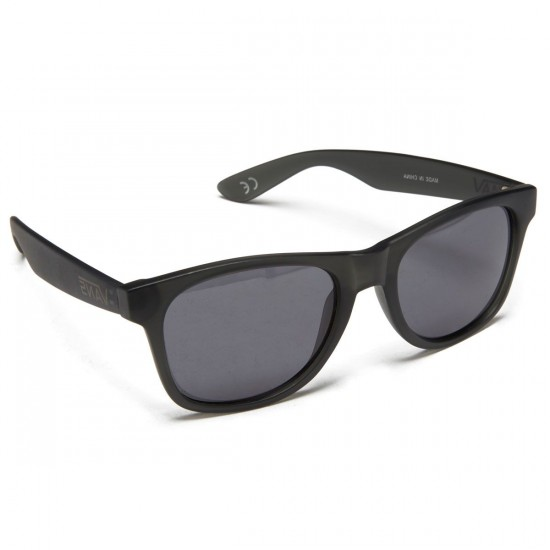 Vans Spicoli 4 Sunglasses - Black Frosted Translucent