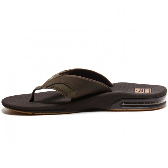Reef Fanning Sandals - Brown/Gum - 8.0