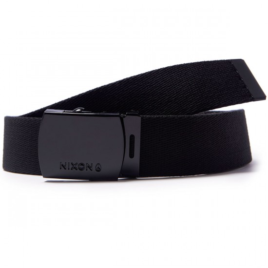 Nixon Basis Belt - All Black