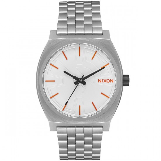 Nixon X Star Wars Time Teller SW Watch - BB-8 Silver/Orange