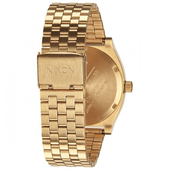 Nixon Time Teller Watch - All Gold/Black Sunray