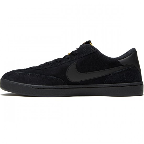 Nike SB FC Classic Shoes - Black/Black/Vivid Orange - 7.0
