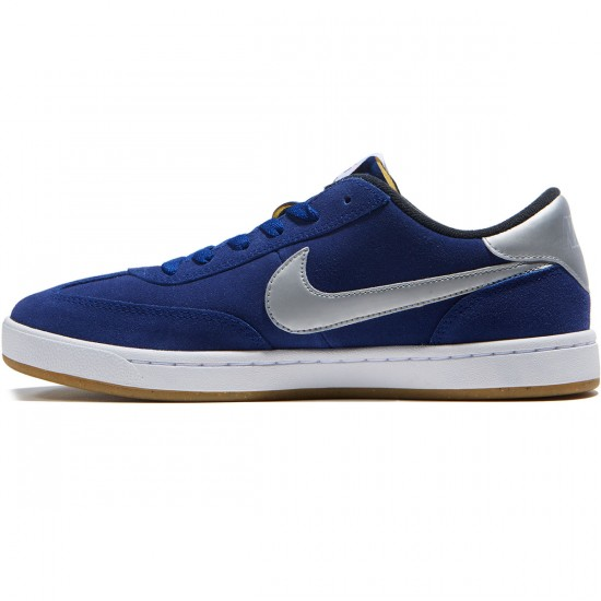 Nike SB FC Classic Shoes - Royal Blue/Metallic Silver/White - 8.0