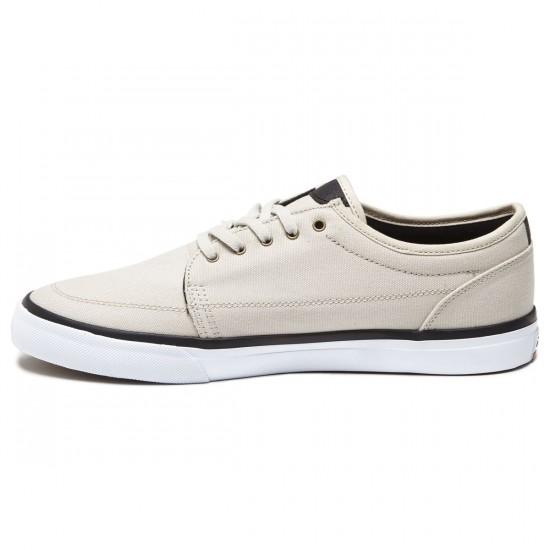 Lakai Madison Shoes - Cream Canvas - 8.0