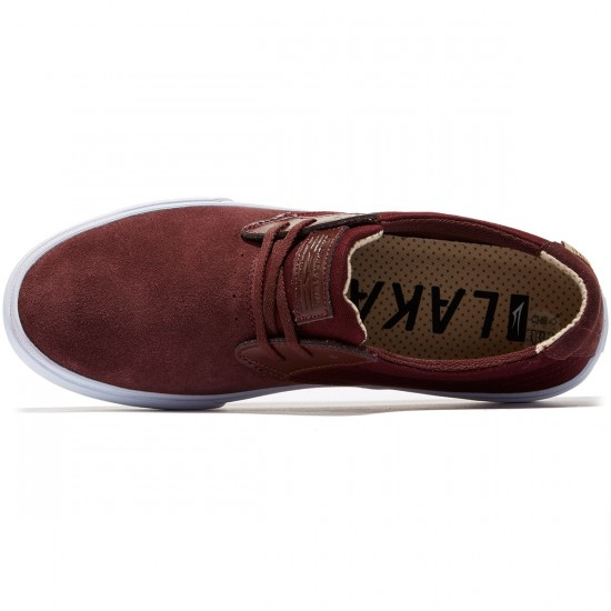 Lakai MJ Shoes - Mahogany - 8.0