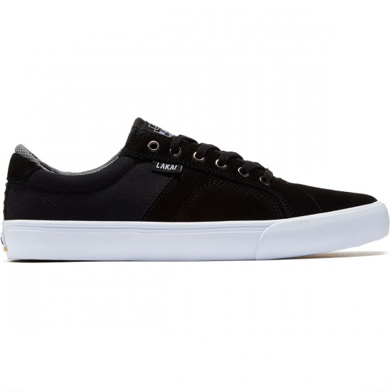 Lakai Flaco Shoes - Black/Grey - 8.0