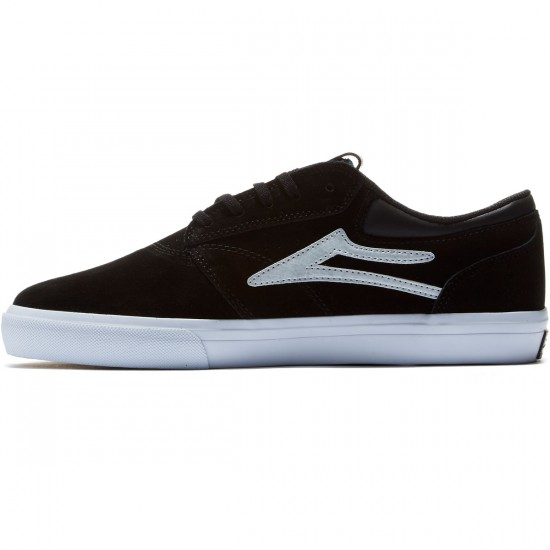 Lakai Griffin Shoes - Black/White - 7.0