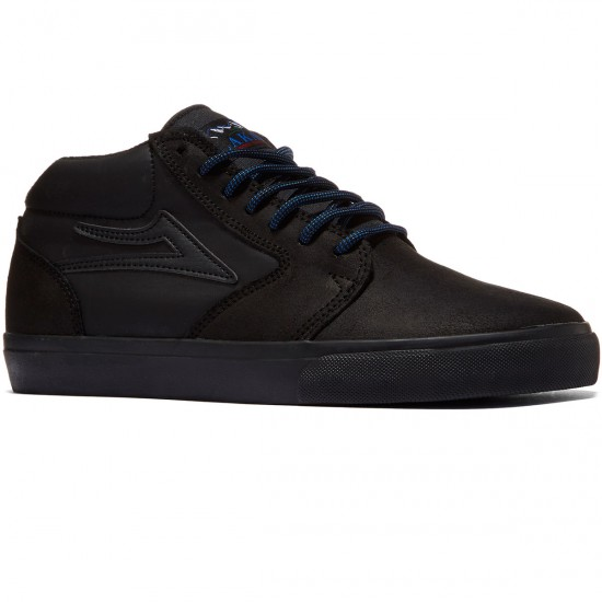 Lakai Fura High WT Shoes - Black/Black - 8.0