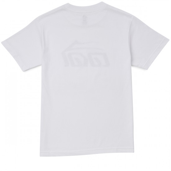 Lakai Basic T-Shirt - White/Black