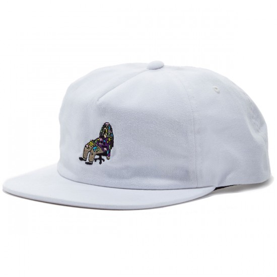 Lakai X Workaholics Home Girl Relaxed Hat - White