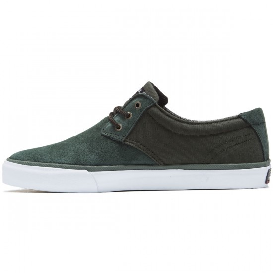 Lakai Daly Shoes - Olive Suede - 8.0