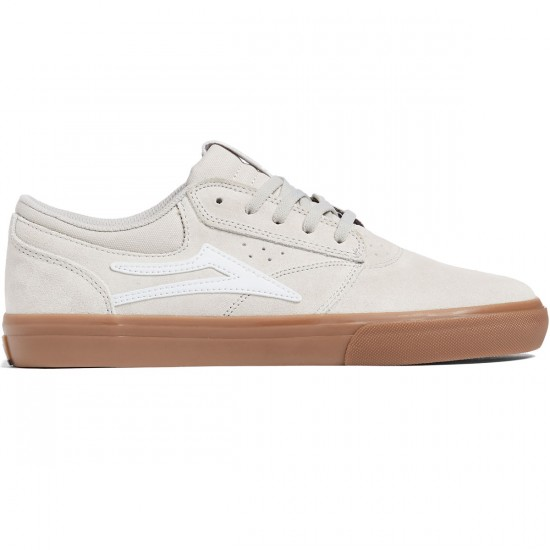 Lakai Griffin Shoes - Cream Suede - 8.0