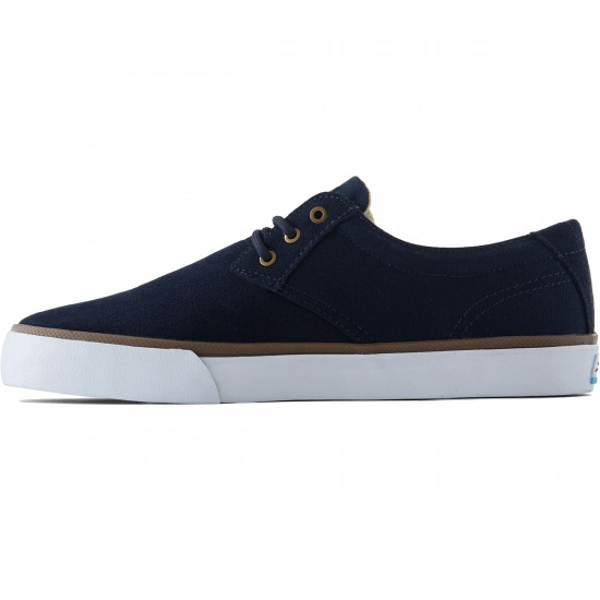 Lakai Daly Shoes - Navy Suede - 8.0