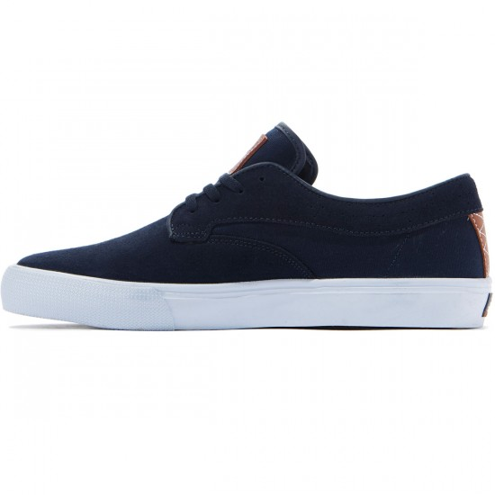 Lakai Riley Hawk Shoes - Midnight Suede - 8.0