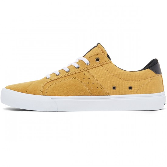 Lakai Flaco Shoes - Gold Suede - 8.0