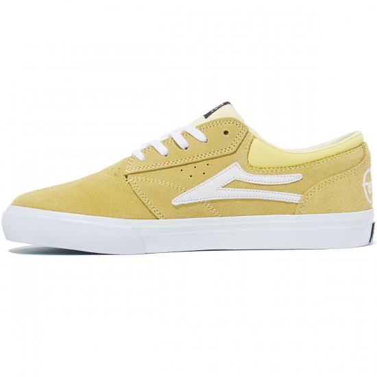 Lakai Griffin Shoes - Dusty Yellow Suede - 9.0