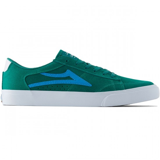 Lakai Ellis Shoes - Green Suede - 8.0