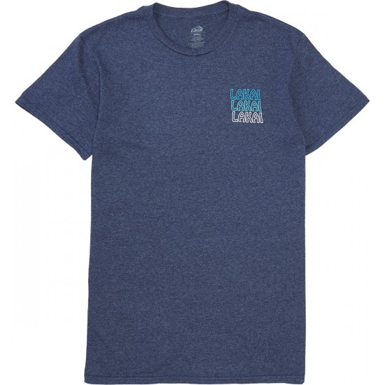 Lakai Sunrise T-Shirt - Denim Heather