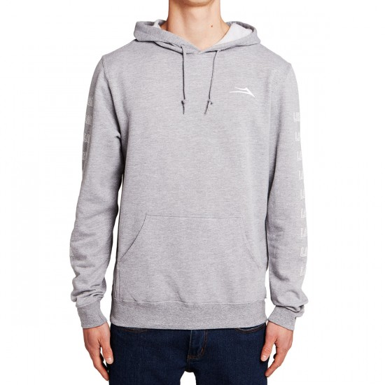 Lakai Sunset Light Weight Hoodie - Ash Heather