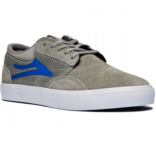 Lakai Griffin Mesh Shoes - Grey Suede - 8.0