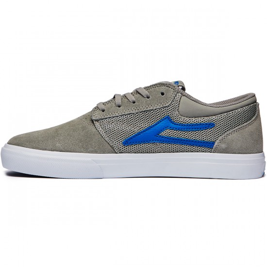 Lakai Griffin Mesh Shoes - Grey Suede