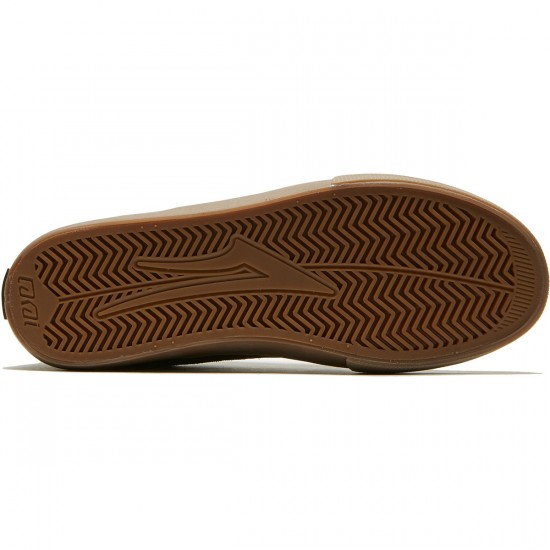 Lakai Riley Hawk Shoes - Chocolate Suede - 8.0