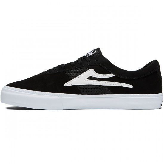 Lakai Sheffield Shoes - Black Suede - 8.0