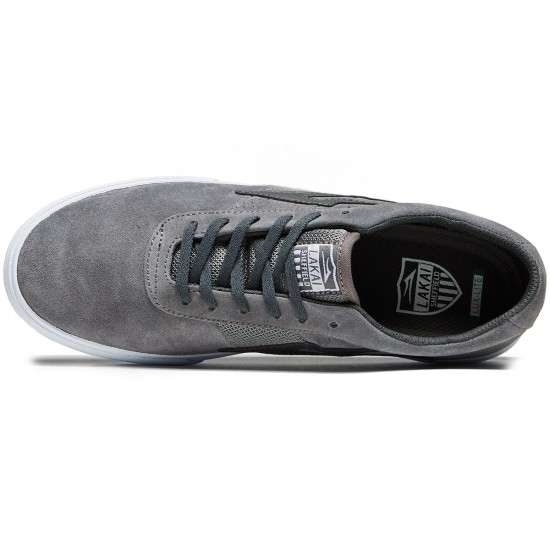Lakai Sheffield Shoes - Grey Suede - 8.0