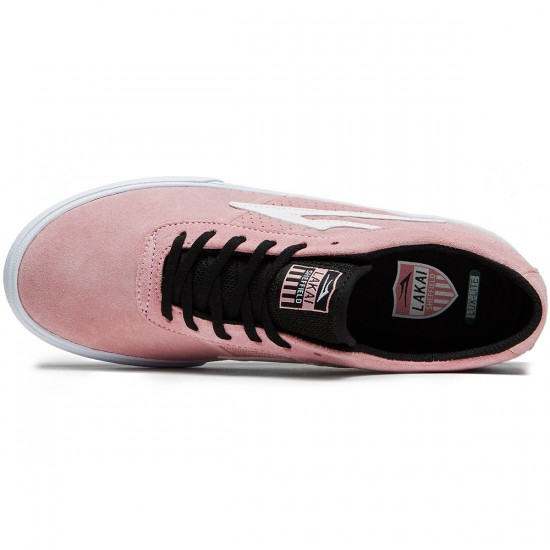 Lakai Sheffield Shoes - Pink Suede - 8.0
