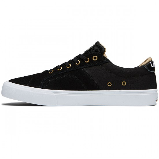 Lakai Flaco Shoes - Black Suede - 8.0