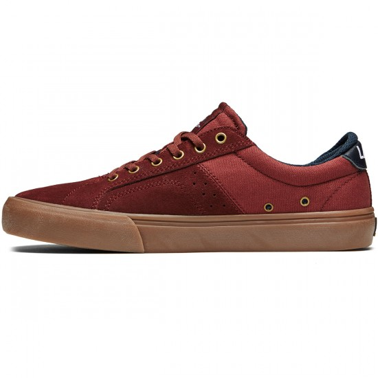 Lakai Flaco Shoes - Brick Suede - 8.0