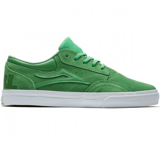 Lakai X Girl Griffin Shoes - Green Suede - 8.0