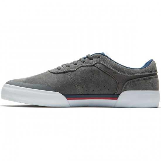 Lakai Staple Shoes - Grey Suede - 8.0