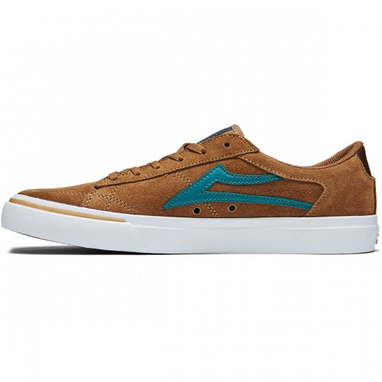 Lakai Ellis Shoes - Walnut Suede - 8.0