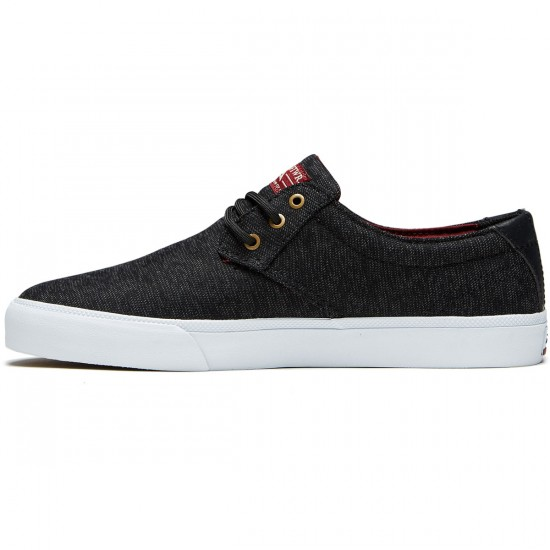 Lakai Daly Shoes - Black Textile - 8.0