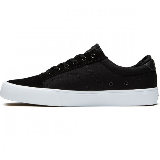 Lakai Flaco Shoes - Black/Charcoal Suede - 8.0