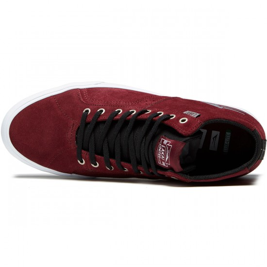 Lakai Flaco High Shoes - Burgundy Suede - 10.0