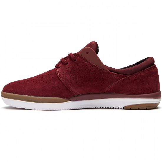 Lakai Freemont Shoes - Burgundy Suede - 8.0
