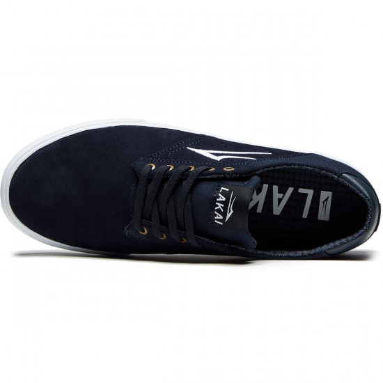Lakai Porter Shoes - Navy Suede - 9.5