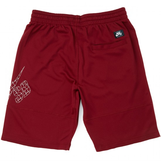 Nike SB Grid Sunday Shorts - Red/White