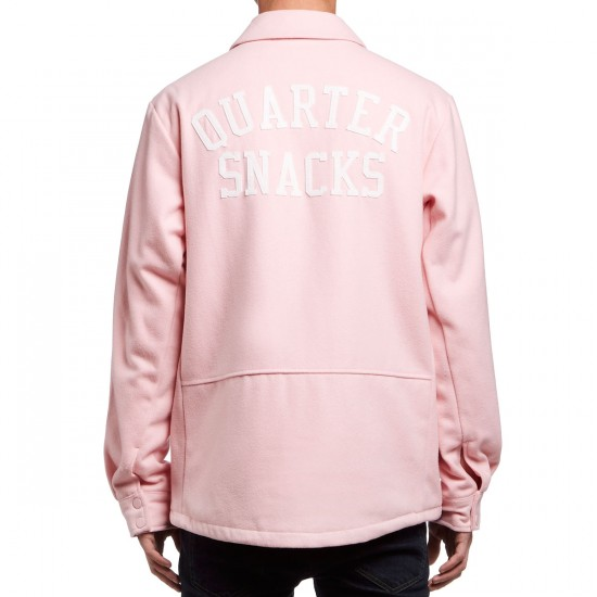 Nike SB X Quartersnacks Coaches Jacket - Sheen/Ivory